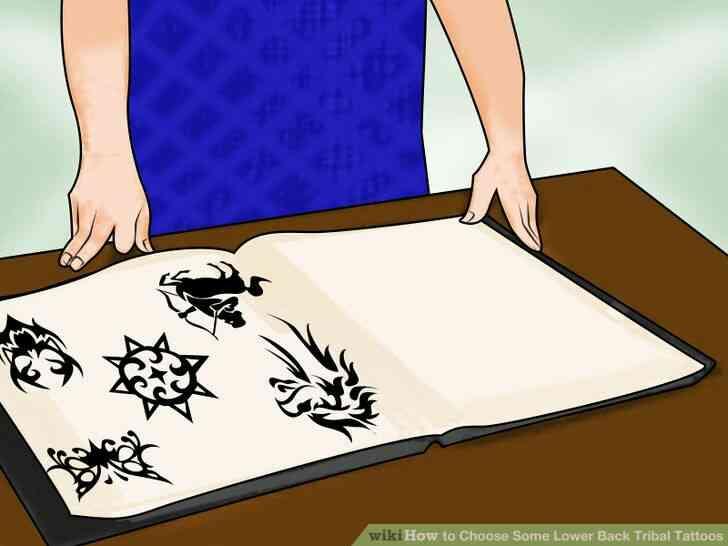 Imagen titulada Elegir Algunas Inferior de la Espalda Tatuajes Tribales Paso 4