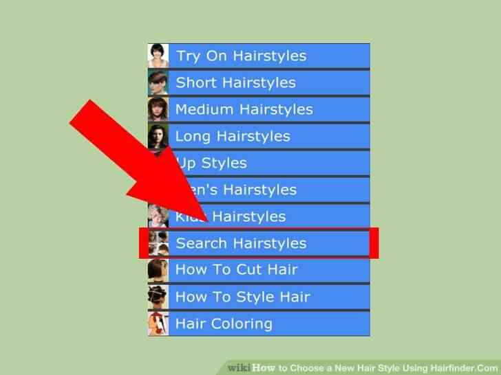 Imagen titulada Elegir un Nuevo Estilo de Pelo de Usar Hairfinder.Com Paso 2