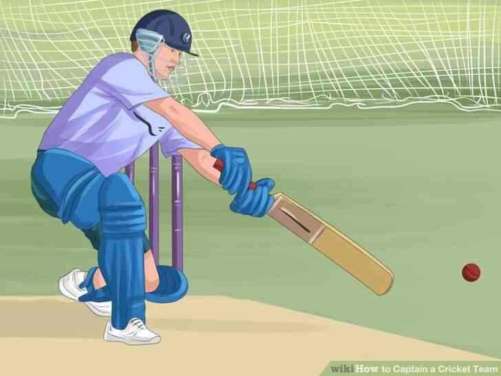 Imagen titulada Capitán de un Equipo de Cricket de Paso de 10