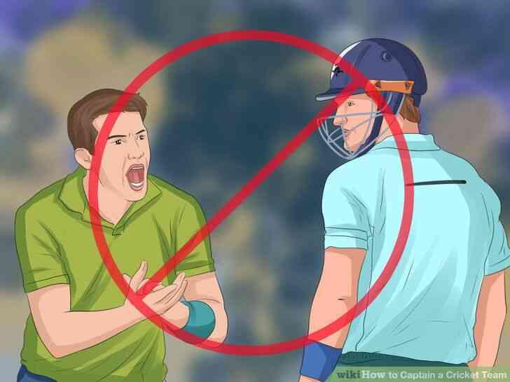Imagen titulada Capitán de un Equipo de Cricket Paso 11