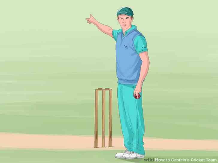 Imagen titulada Capitán de un Equipo de Cricket Paso 13