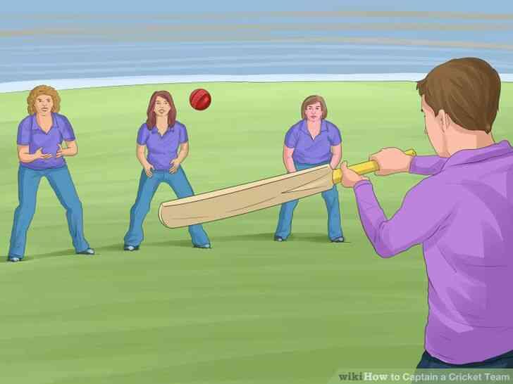 Imagen titulada Capitán de un Equipo de Cricket Paso 3