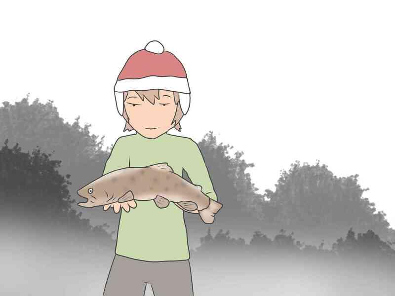 Cómo Atrapar una Trucha Marrón en el Invierno