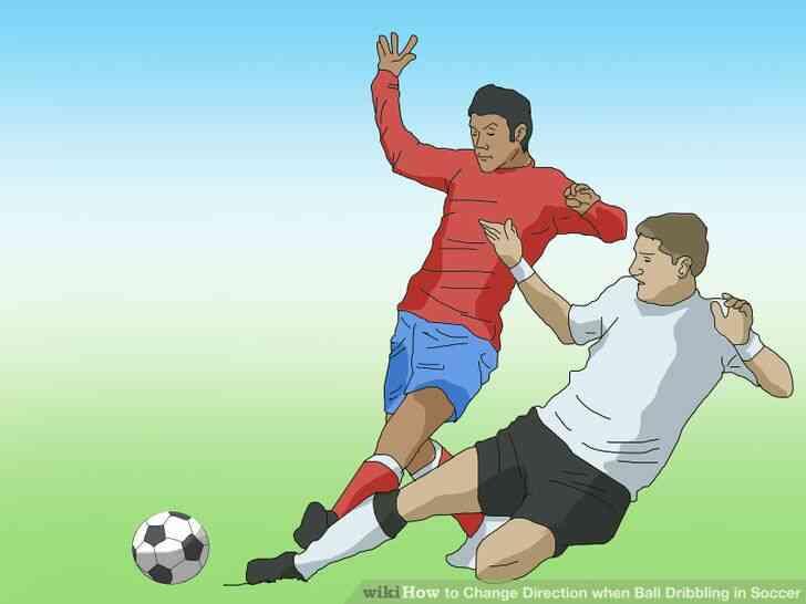 Imagen titulada frente a la Diapositiva en el Fútbol Paso 2