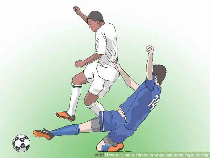 Imagen titulada frente a la Diapositiva en el Fútbol Paso 4