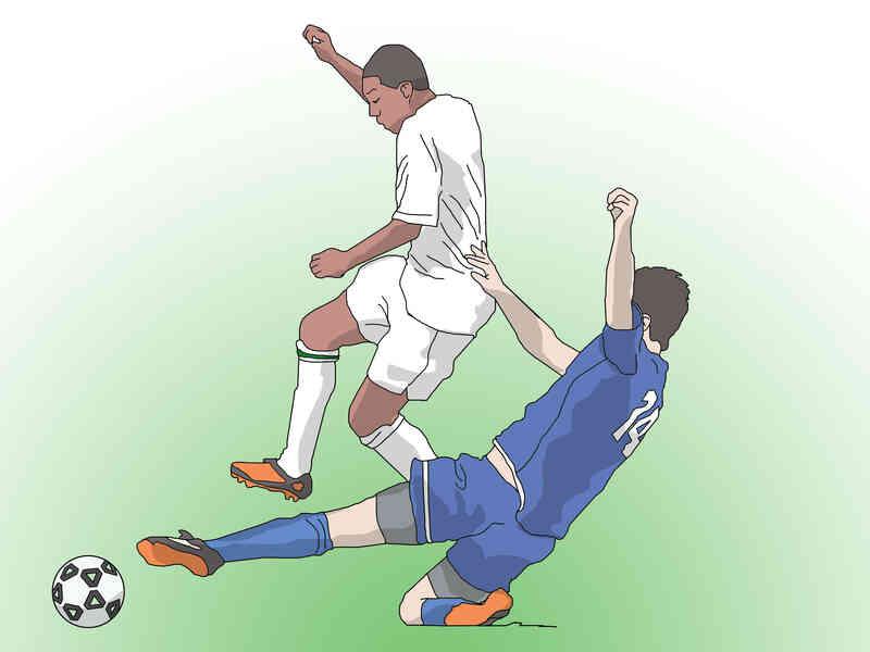 Cómo Cambiar de Dirección cuando la Bola de Goteo en el Fútbol