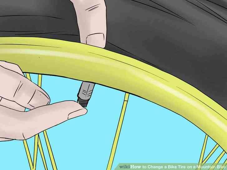 Imagen titulada Cambiar un Neumático de la Bici de la Bicicleta de Montaña Paso 3Bullet1