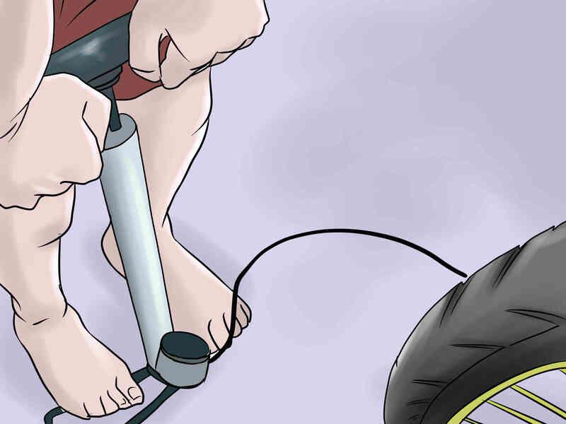 Cómo Cambiar un Neumático de la Bici de la Bicicleta de Montaña