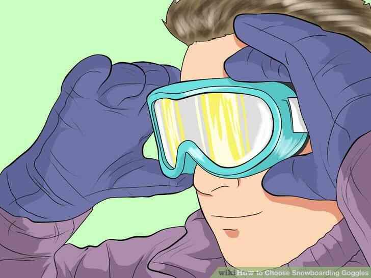 Imagen titulada Elegir Snowboard Gafas de Paso 2