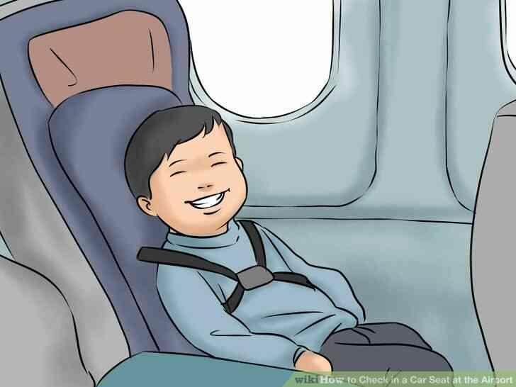 Imagen titulada Comprobar en un Asiento de Coche en el Aeropuerto de el Paso 12