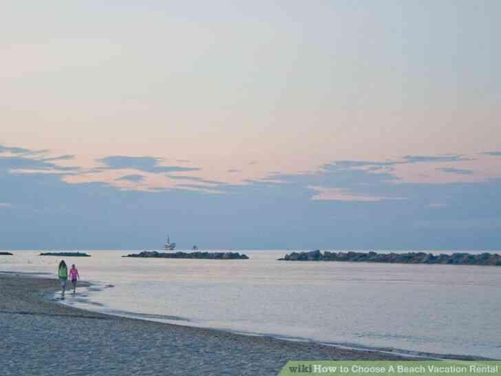 Imagen titulada Elegir Una Playa Alquiler de Vacaciones Paso de 1