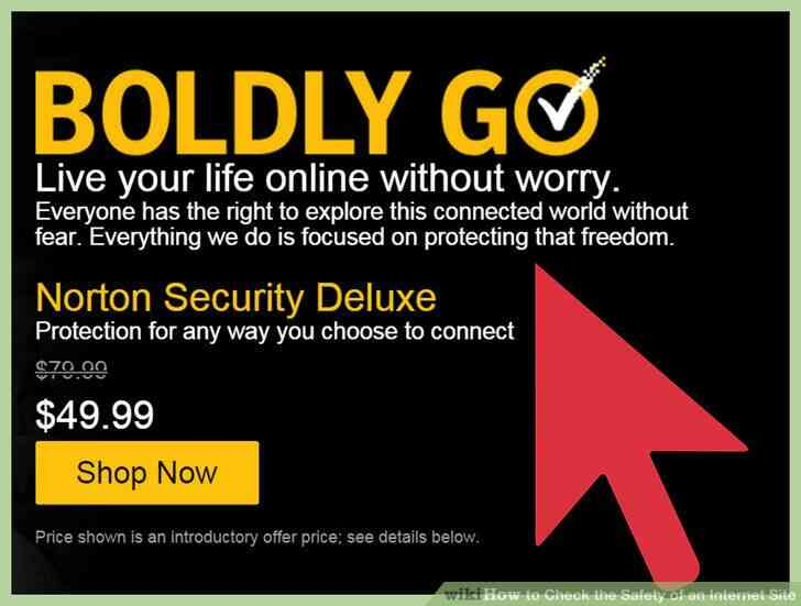 Imagen titulada Verificar la Seguridad de un Sitio de Internet Paso 1