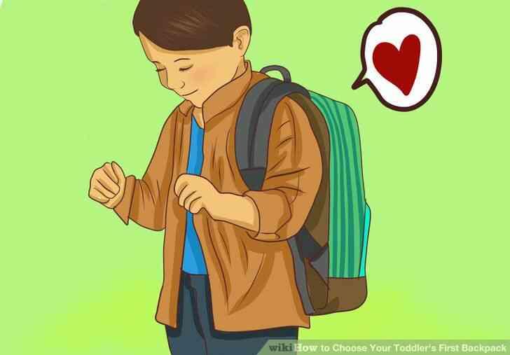 Imagen titulada Elegir en el Niño la Primera Mochila Paso 8