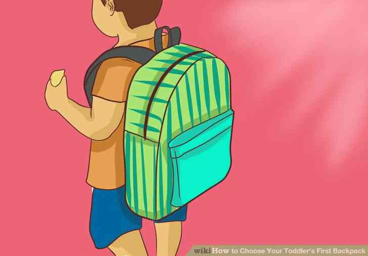 Imagen titulada Elegir en el Niño la Primera Mochila Paso 12